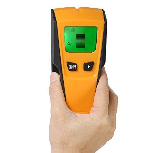 Vislone Detector de Pared, 3 en 1 Stud Finder Multifuncional LCD Digital Metal AC Alambres Escáner de Madera