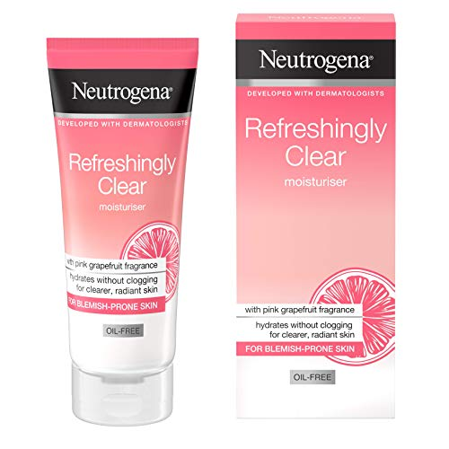 Neutrogena Hidratante sin aceite refrescante transparente, 50 ml.