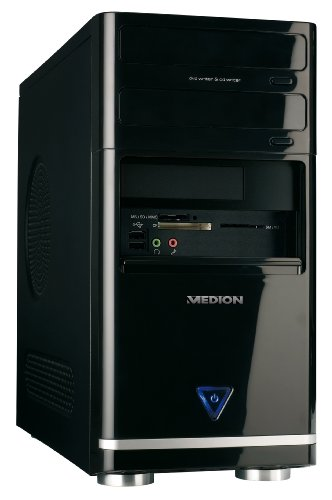 Medion Akoya P4313 Desktop-PC (Intel Pentium E5300 2.6GHz, 4GB RAM, 1000GB HDD, Nvidia GeForce GT120, DVD +- DL RW,Vista Home Premium)
