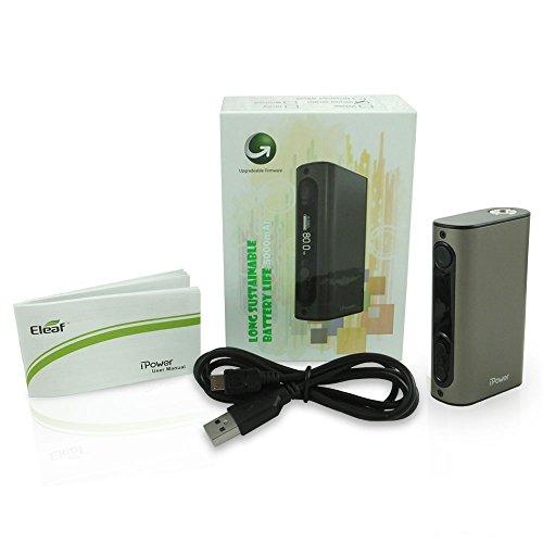 Eleaf iPower 5000 mAh Grigio MOD Sigaretta elettroniche