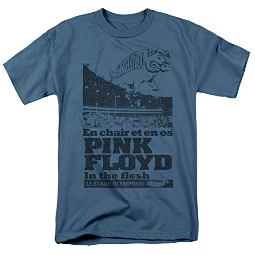 Pink Floyd in The Flesh Live Rock Band T Shirt & Stickers (X-Large)