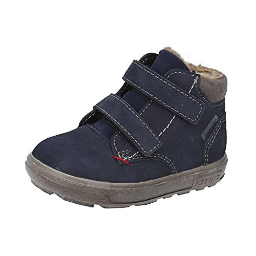 RICOSTA Jungen Boots Alex von Pepino, Weite: Weit (WMS),Sympatex,terracare,Winterboots,Outdoor-Kinderschuhe,warm,See (184),28 EU / 10 Child UK