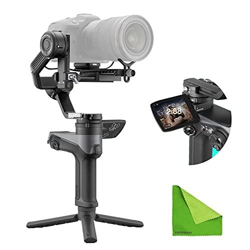 Zhiyun Weebill 2 Gimbal Stabilizer for DSLR Cameras / Mirrorless 3-Axis Handheld Professional Video Stabilizer for Sony Nikon Canon Fuji Olympus Panasonic LUMIX Blackmagic 6K 4K S 2021 New WB2
