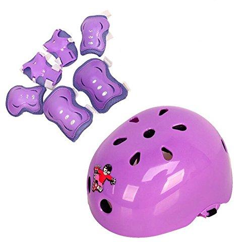 Kids Protective Gear Set 7Pcs Sp...