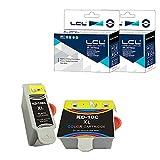 LCL 10 10B 10C XL (1Negro+1Color) Cartucho de Tinta Compatible para Kodak EasyShare 5000,EasyShare 5100, EasyShare 5200, EasyShare5300, EasyShare 5500,ESP 3, ESP 5000, ESP 5200, ESP 3200, ESP 3250