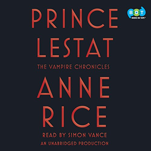 Prince Lestat audiobook cover art