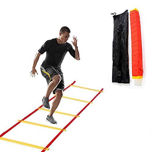 Mancru Échelle d'agilité Échelle de Vitesse pour échelle d'entraînement d'agilité avec Sac de Transport