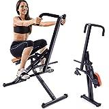 BAKAJI Attrezzo Total Body Allenamento Fitness Cardio Palestra Addominali Crunch Petto Spalle Gambe con Seduta...