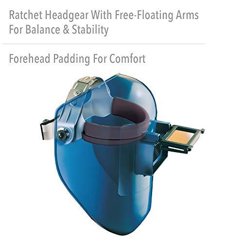 Fibre-Metal by Honeywell Tigerhood Classic Thermoplastic Welding Helmet, Gray (906GY)