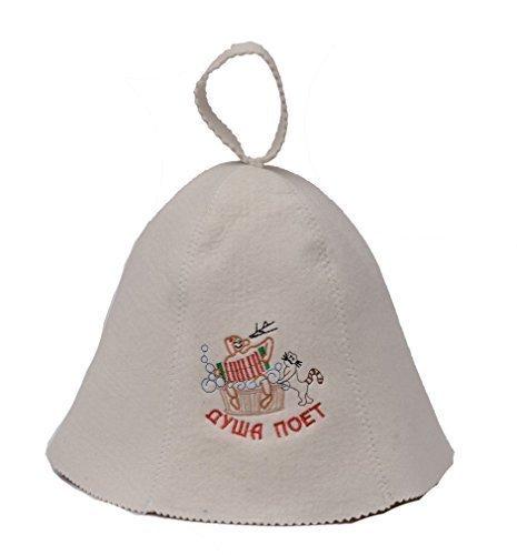 Vilten kap sauna hoed pet saunamuts voor sauna vilten hoed 5177-1166