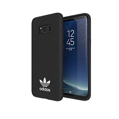 Adidas Originals Moulded Case - Custodia per Samsung Galaxy S8+ EDGE – nero/bianco