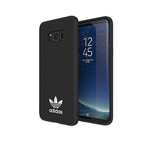 Adidas Originals Moulded Case - Custodia per Samsung Galaxy S8+ EDGE – nero/bianco
