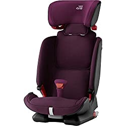 Soft neoprene performance chest pads Highback booster protection V-shaped headrest ensures optimal protection EasyRecline is suitable for all ages and allows you to adjust the seat into three comfortable positions Designed a machine washable seat cov...
