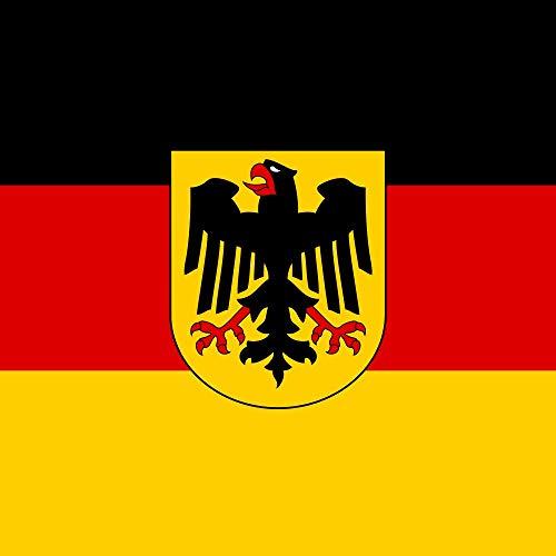 magFlags Drapeau Large DE Bundesminister, German Minister | 1.35m² | 120x120cm