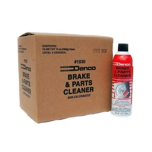 Denco #1930 Brake & Parts Cleaner - 15.3 FL OZ - 13 OZ Cans - 12 to 88 Pack (12)