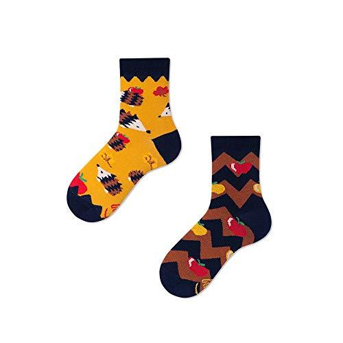 Many Mornings unisex Socken Apple Hedgehog (Mehrfarbig, 39-42)