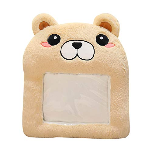 minjiSF Warm Hands Cushion for Unisex Cotton Plush Cute Cartoon Handbag Including Friend Gift Winter Indoor 40 x 30 cm - Multicolour - Onesize