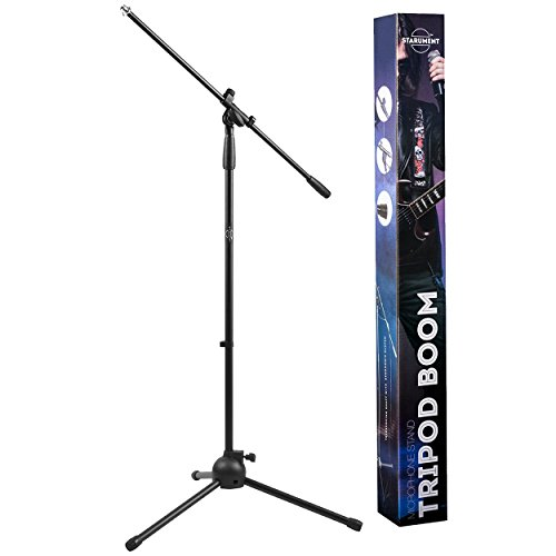 Tripod Boom Microphone Stand | Perfect for Professional and Aspiring Musicians, Stage...