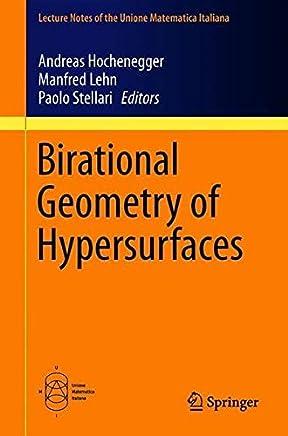 Birational Geometry of Hypersurfaces: Gargnano del Garda, Italy, 2018