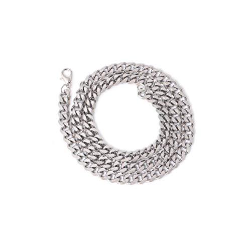 Naicasy 1 Pulsera de Cadena y Colgante Conjunto de Metal de joyería Collar de la Manera del Collar de Plata esterlina de Lujo y Brazalete