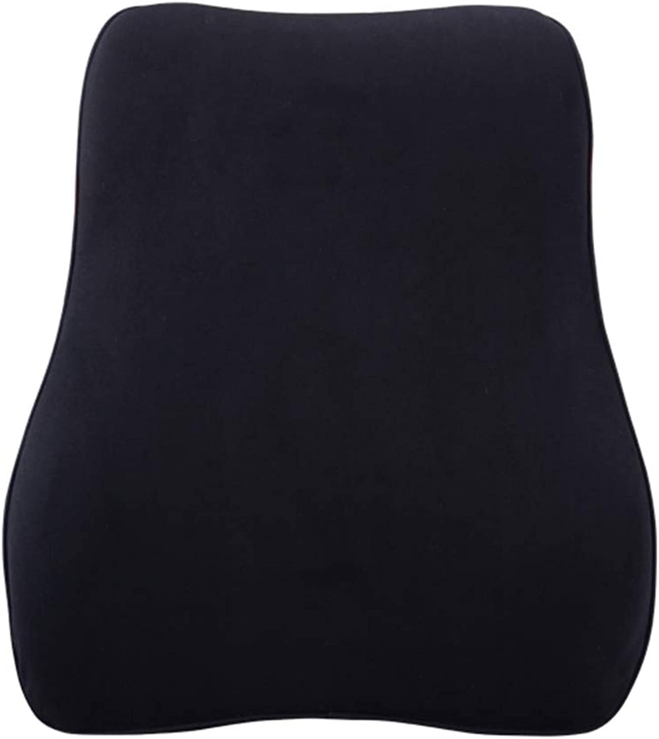 Back Cushion Lumbar Support Pillow Ergonomic Back Support Car Memory Foam Neck Predection Four Seasons GAOFENG (color   Black, Size   Lumbar Support)