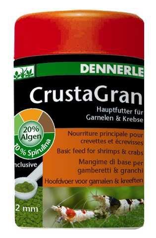 Dennerle CrustaGran - artgerechtes Hauptfutter für Garnelen und Zwergflusskrebse