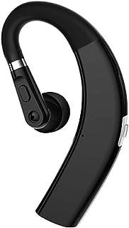 CIC Fone de Ouvido Bluetooth Earbuds sem Fio Gancho de Orelha, Microfone, 11 Horas, Preto