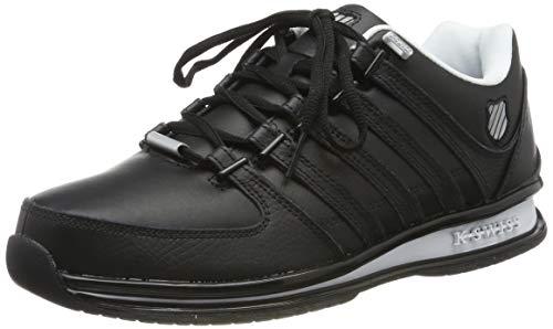 K-Swiss Herren Rinzler SP Sneaker, Schwarz (Black/Neutral Grey/White 087), 47 EU
