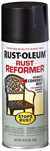 Rust-Oleum 215215-6 PK Stops Rust Reformer Spray Paint, Black ( Pack of 6 )