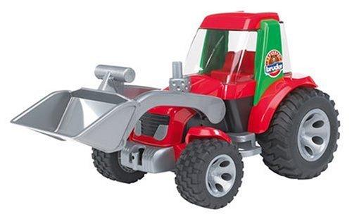 BRUDER - 20102 - Tracteur ROADMAX avec Pelle - Rouge