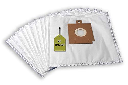 eVendix Staubsaugerbeutel kompatibel mit FIF KS 1202, 1204, 20 Staubbeutel + 4 Mikro-Filter, kompatibel mit Staubsaugerbeutel Swirl Y204