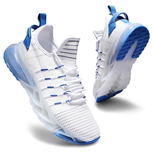 Deevike Zapatillas de deporte para mujer, zapatillas de deporte, para correr, senderismo, antideslizantes, resistentes a los golpes, color, talla 39 EU