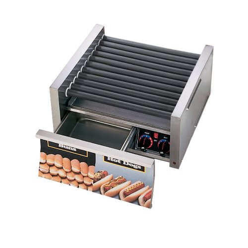 Purchase Star Mfg Grill Max 1535-W 50-Hot Dog Grill w/ Bun Drawer