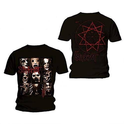 Bravado Slipknot Mezzotint Decay - Camiseta de Manga Corta, Color Negro, Talla Small