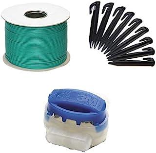 genisys Universal Cable delimitador para Robot de Corte de césped Cable de limitación - Carrete de Cable HQ - Aluminio est...