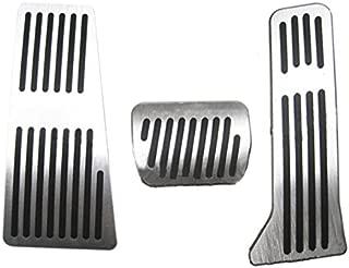 4 st/ücke Auto Schaltgetriebe Kupplung Bremse Fu/ßst/ütze Pedal Pad f/ür 1 3 5 7 X1 Serie E30 E32 Auto Fu/ßpedal