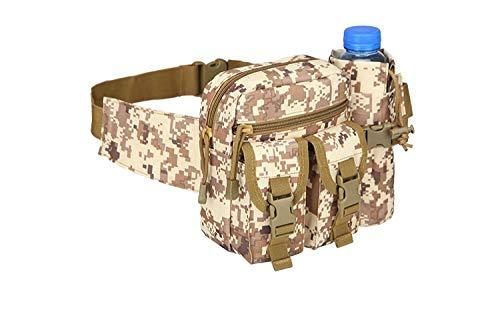 JQQY Army Fan Camouflage Desert Digital 26.5Cm Unisex Marsupio Marsupi Sportivi Bumbag