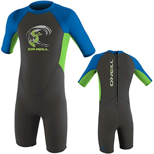 O'Neill Kinder Neoprenanzug Toddler Reactor Spring FX6 Graphite/Dayglo/Ocean 4