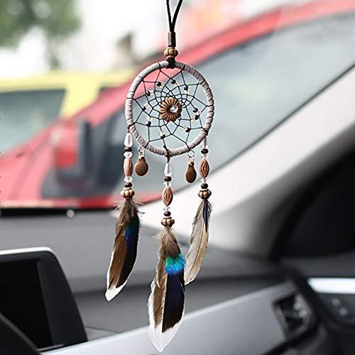 DBDCH auto hangende ornamenten auto spiegel hanger in autoaccessoires voor meisjes roze Home Room Decor auto windspel