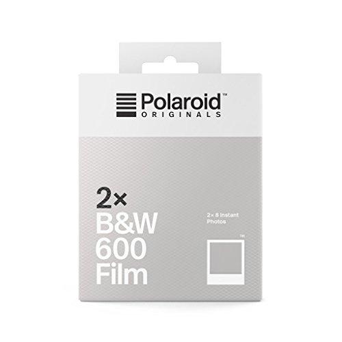 Película Polaroid Originals 600 B&W