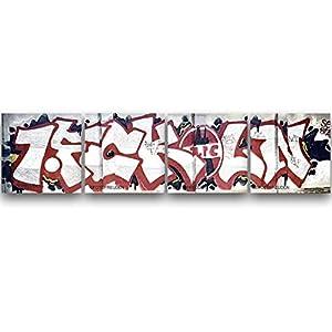 1. FC Köln Graffiti, Köln Fotos auf Holz, Holzbild, Handmade, verschiedene Größen ab 5x5cm