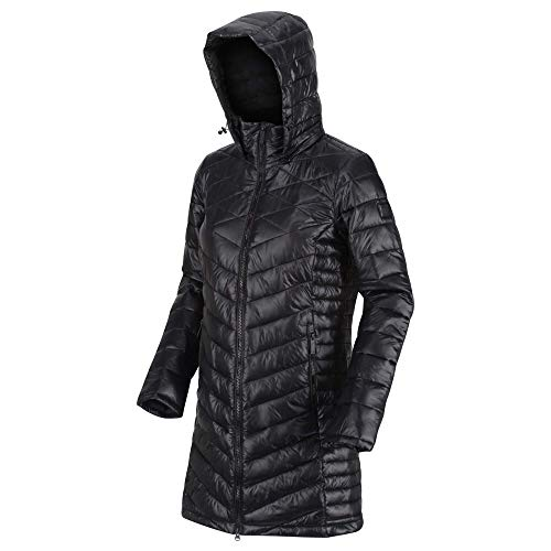 Regatta Women's Andel Ii Lightweight Insulated Hooded Baffle Quilted Jacket