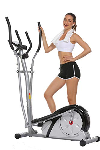 Aceshin Elliptical Machine Trainer Compact Life Fitness Exercise Equipment for Home...
