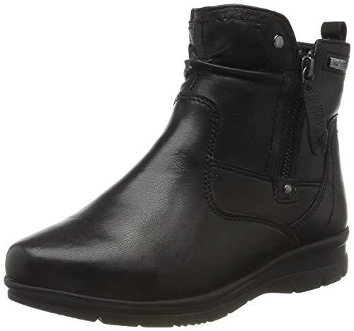 Jana 100% comfort Damen 8-8-26428-23 Stiefeletten, Schwarz (Black 001), 39 EU
