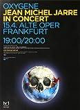 Jean Michel Jarre - Oxygene 2008 - Poster,...