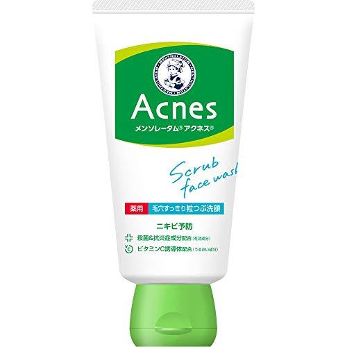 MENTHOLATUM acnes(メンソレータムアクネス) メンソレータムアクネス 薬用毛穴すっきり粒つぶ洗顔