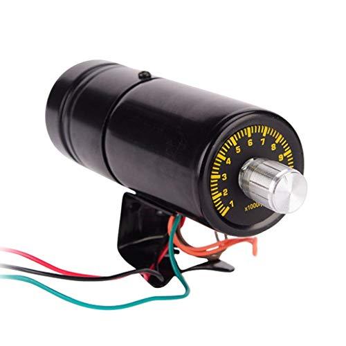 B Baosity Universal Motorrad Blue LED Tacho Tachometer Drehzahlmesser Geschwindigkeitsmesser Kilometerzähler, 1000-11000 RPM