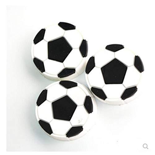 20 neue starke billige Fußballmagnete schwarz weiß für Pinnwand Kühlschrank etc