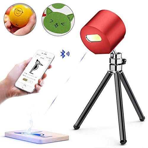 (佐川急便発送,送料無料)LaserPeckerレーザー彫刻機1600mW 軽量 (190g) コンパクト 小型 携帯しやすい レーザー刻印機 [3色から選べる彫刻機] 高性能高解像度 DIY道具 加工機 無線Bluetooth/iOS/Android/U