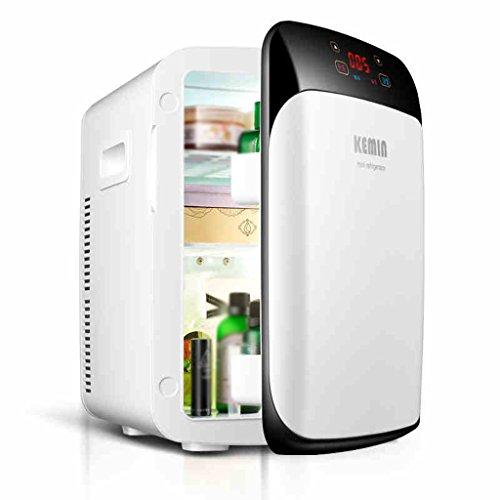 JCOCO Réfrigérateur pour voiture 15L Car Home À double usage Mini incubateur à froid et à chaud Cosmétique Réfrigérateur Containers Refrigeration Appartement Réfrigérateur Mini réfrigérateur